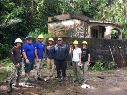 El Yunque volunteering_PR 2019