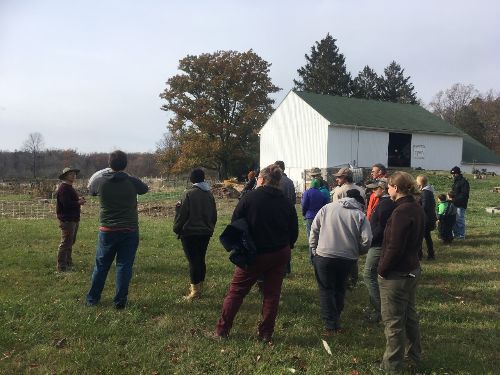 Farm tour at Purple Brown Farmstead | Nov 10, 2019