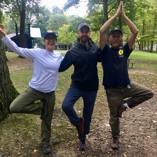 Tree pose in the Forest | Oct 3, 2019