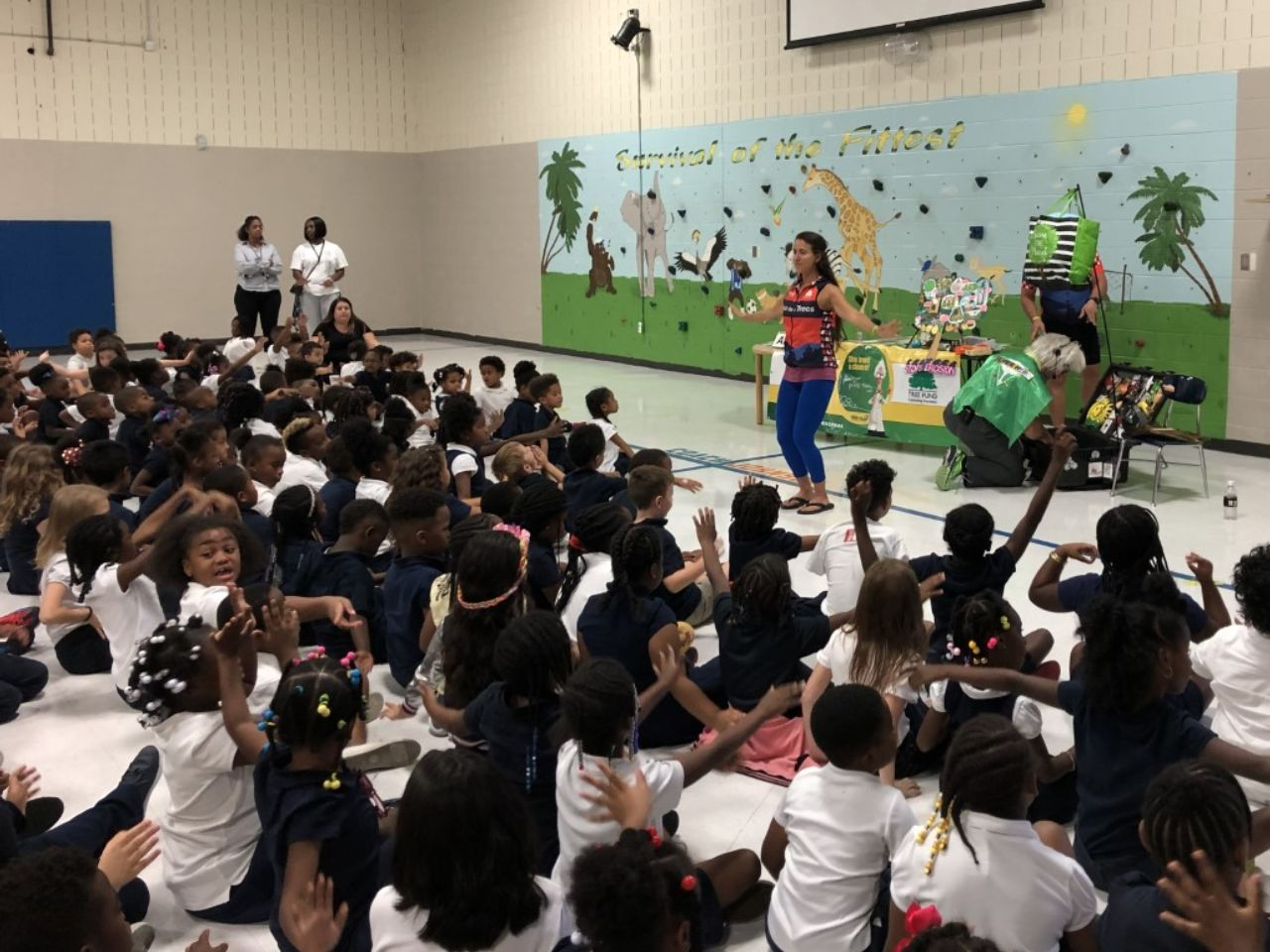 Kids program on Tour des Trees @ Hull-Jackson Montessori School, Nashville | Sept 2019