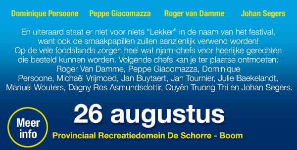 26 augustus Provinciaal Recreatiedomein De Schoore - Boom