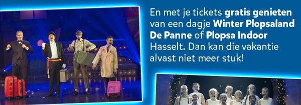 En met je tickets gratis genieten van een dagje Winter Plopsaland De Panne of Plopsa Indoor Hasselt.
