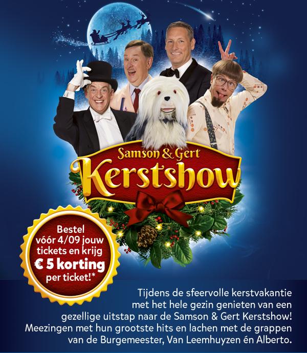 Bestel voor 4/09 jouw tickets en krijg €5 korting per ticket!