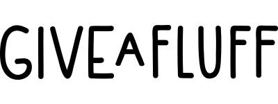 Give A Fluff Logo.