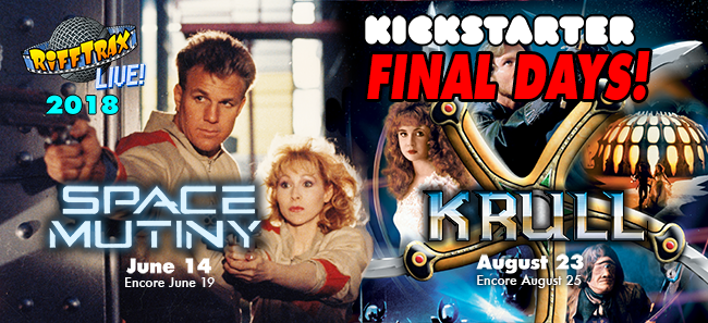 Back RiffTrax on Kickstarter before it's too late!