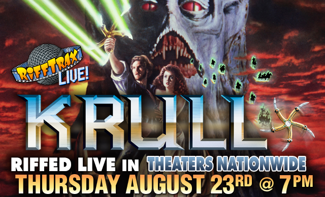 Don't miss the last RiffTrax Live of 2018!