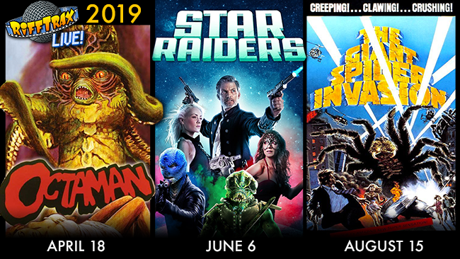 Make the 2019 RiffTrax Live season our best yet!