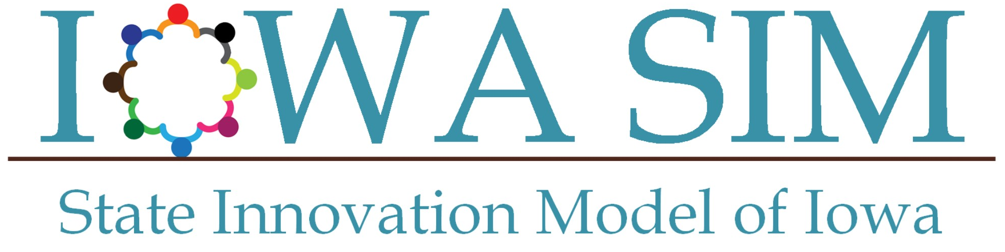 State Innovation Model of Iowa's (SIM) logo.