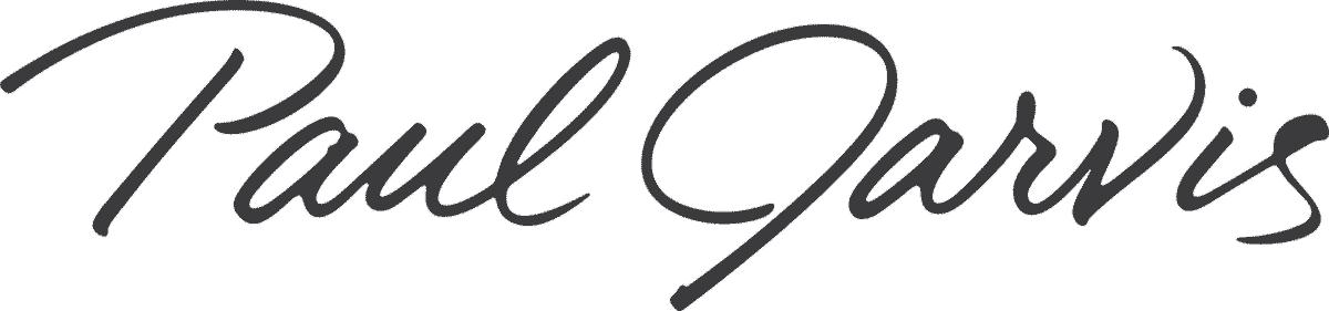 Paul Jarvis has the fanciest logo.
