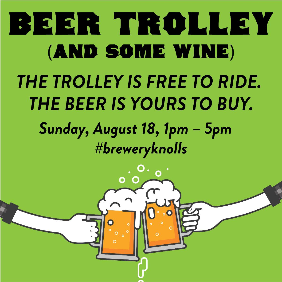 Beer Trolley Day
