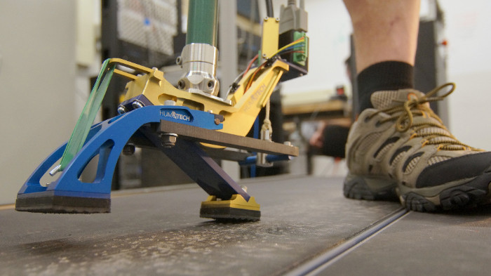 Rapid control prototyping of  HuMoTech's ankle-foot prothesis