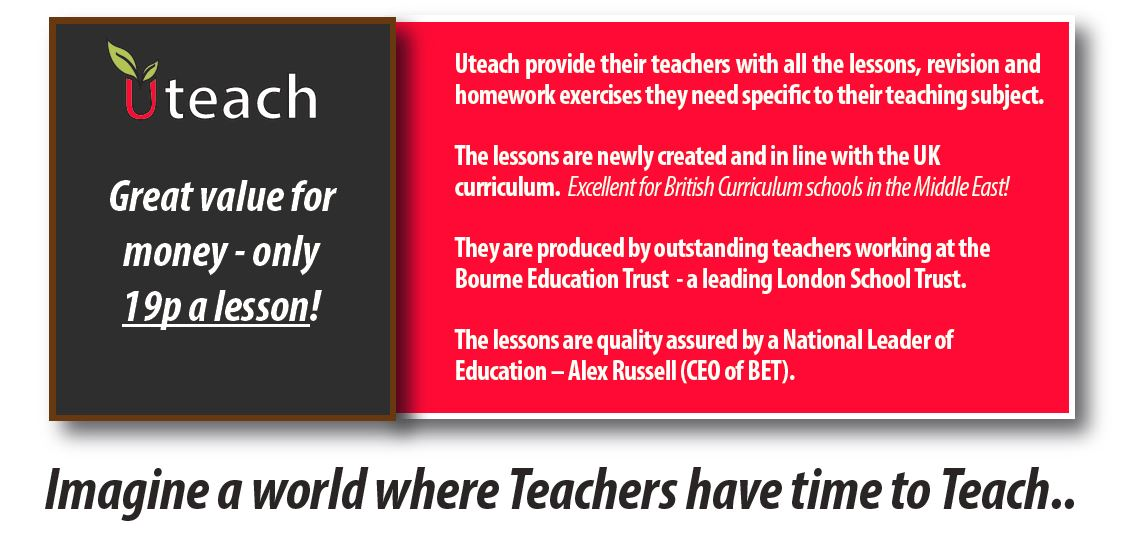 Uteach Will Provide Lessons!