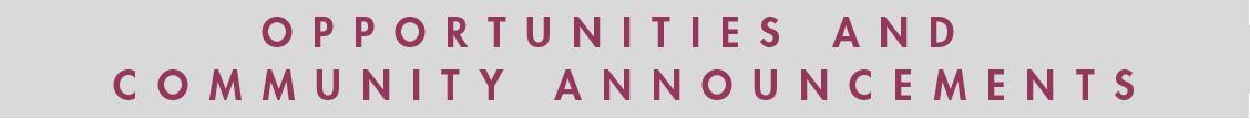 OpportunitiesAndCommunityAnnouncements_bar
