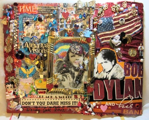 American Visions, Mixed Media artwork by Wendy Gell