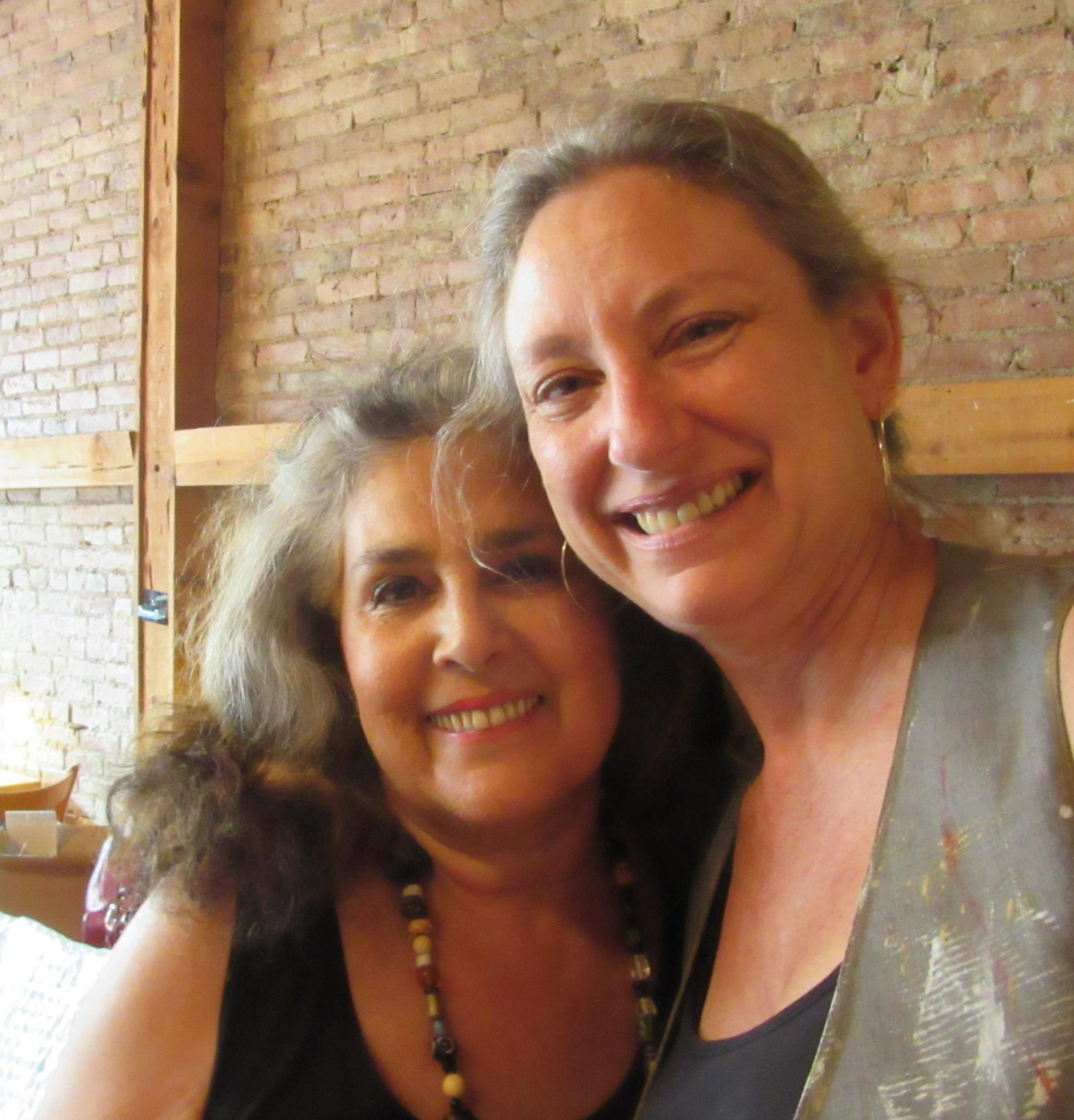 Wendy Gell and Hannah West at the goodBean Cafe in Jacksonville, Oregon