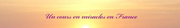 Un cours en miracles en France