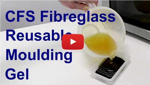 CFS Fibreglass Reusable Moulding Gel