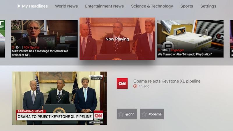 Haystack TV tvOS app