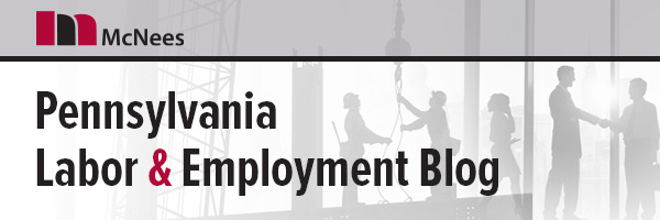 Pennsylvania Labor & Employment Blog