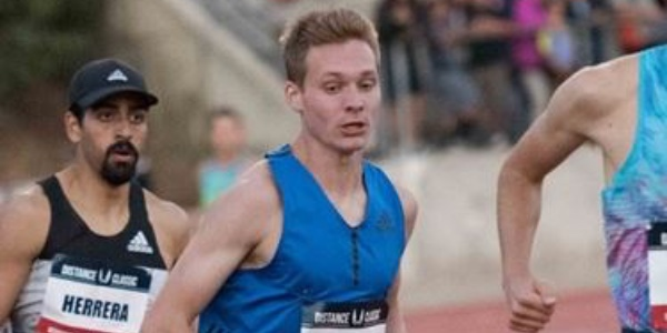 First-year pro runner Drew Hunter joins rare company