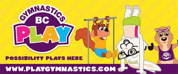 Play Gymnastics Newsletter header
