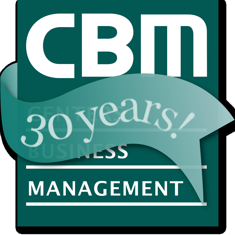 (logo CBM 30-year anniversary)