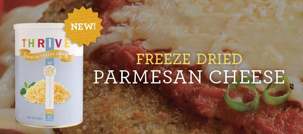 New! Freezed Dried Parmesan Cheese
