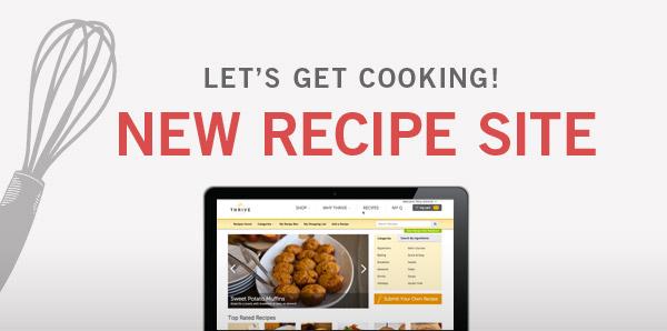 New Recipe Site