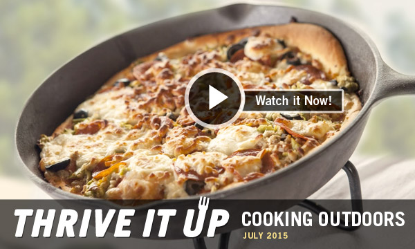 Thrive it Up | Cooking Outdoors