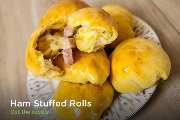 Ham Stuffed Rolls
