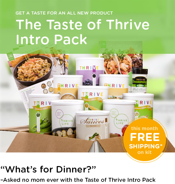 The Taste of Thrive Intro Pack