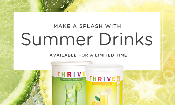 Make a Splash with Summer Drinks