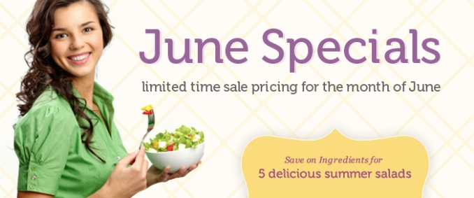 Shelf Reliance June Specials