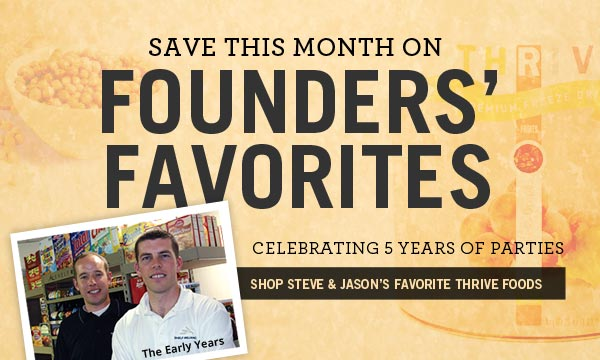 Save this month on Founder's Favorites