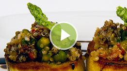 Asparagus & Quinoa Salad Video