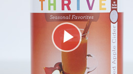 THRIVE TIP: Apple Cider