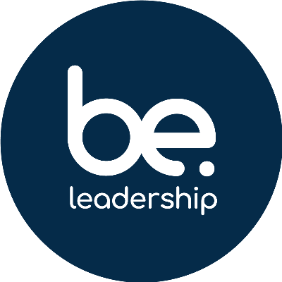 The Be. Leadership logo in blue