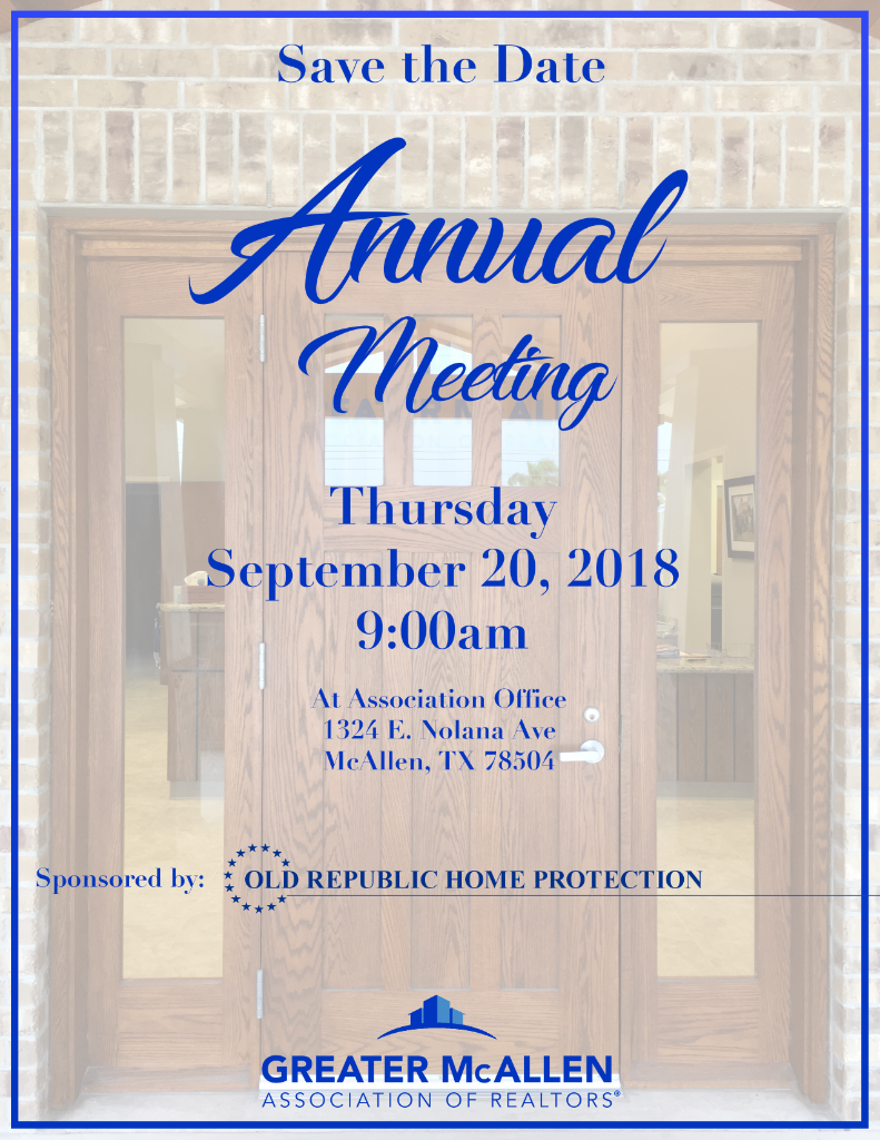 Flyer - Annual Membership Meeting
