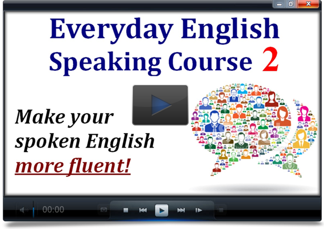 Get a 33% discount on Everyday English Speaking Level 2