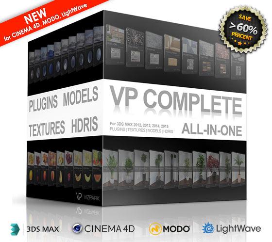 VP COMPLETE for CINEMA 4D, MODO, LIGHTWAVE