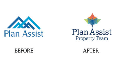 Before and After logo