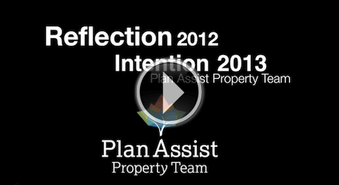 Reflection 2012, Intention 2013