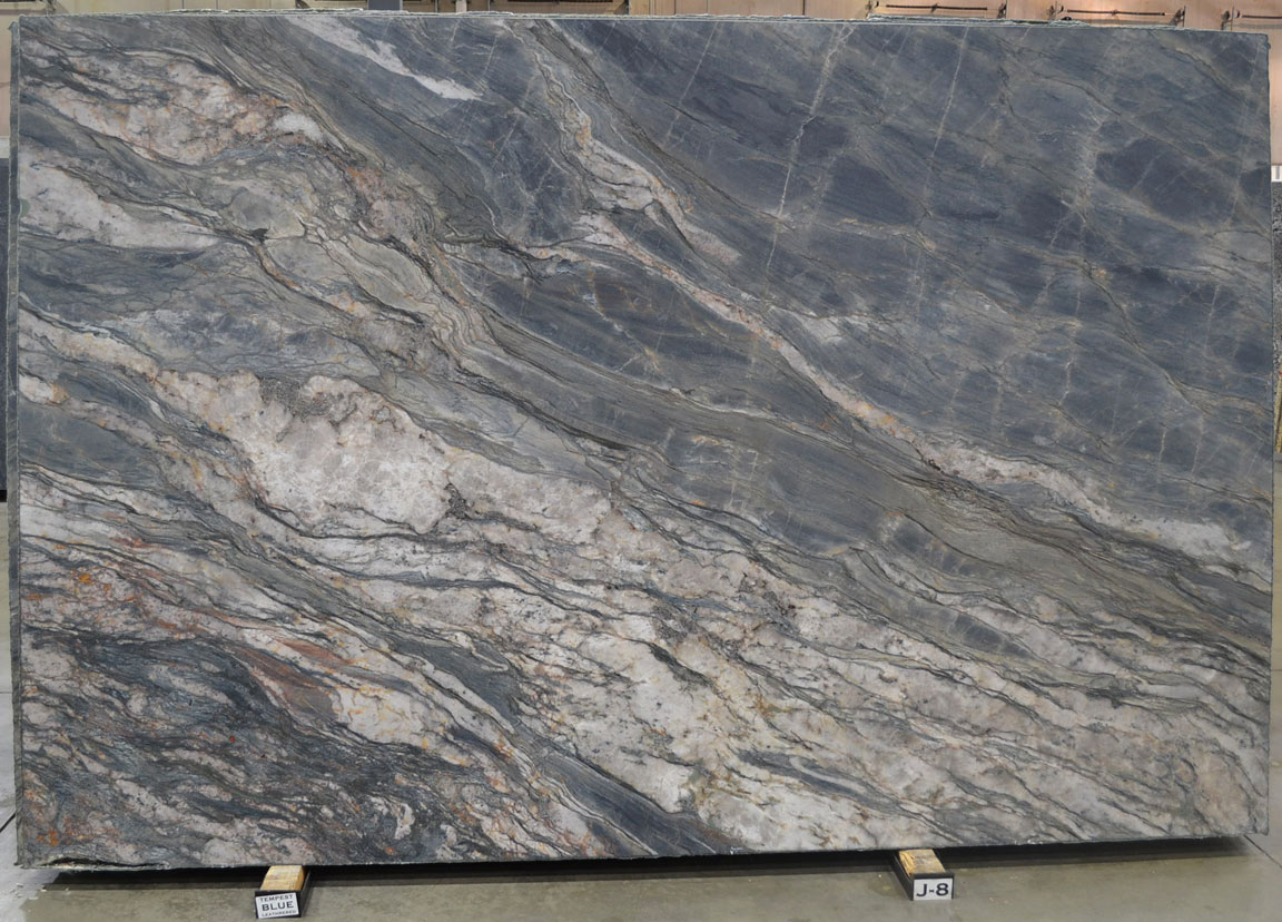 Tempest Blue Leathered Quartzite