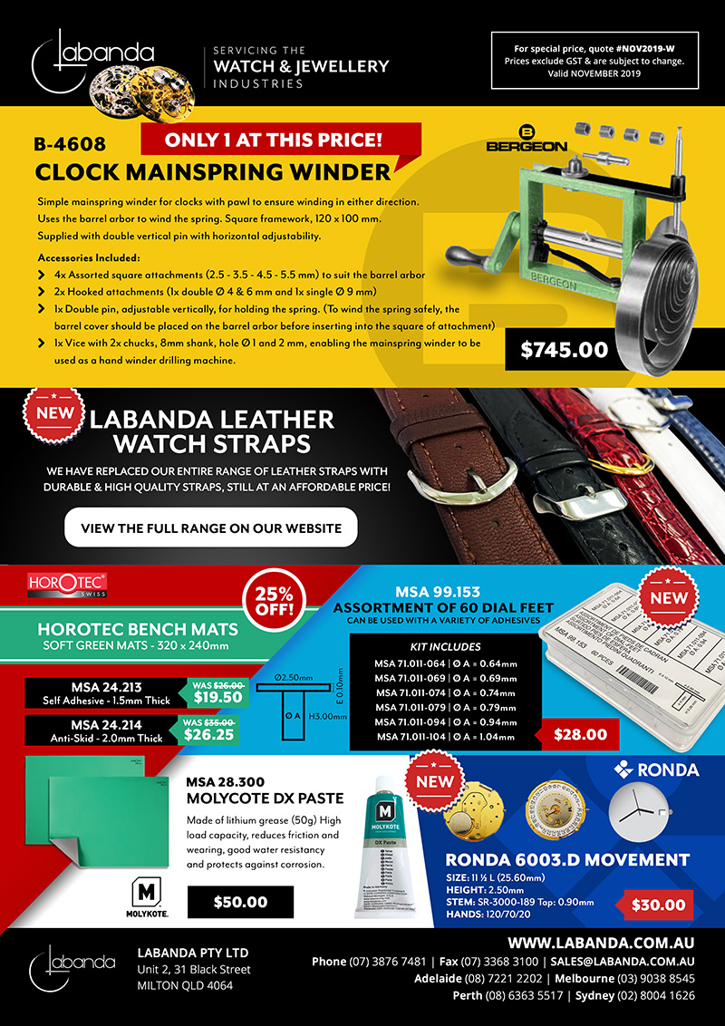 Labanda Pty Ltd Monthly Specials