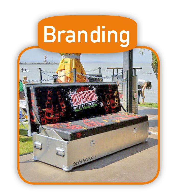 Individuelles Branding für Ihre SofaBOX.