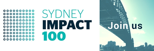 Impact100 Sydney Invitation logo
