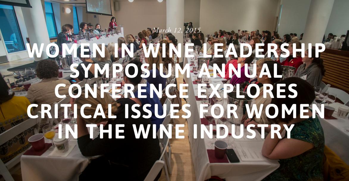 Women In Wine Symposium