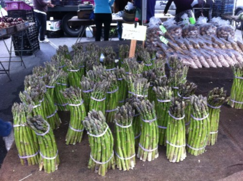 Spring Asparagus Marin County Farmer's Market
