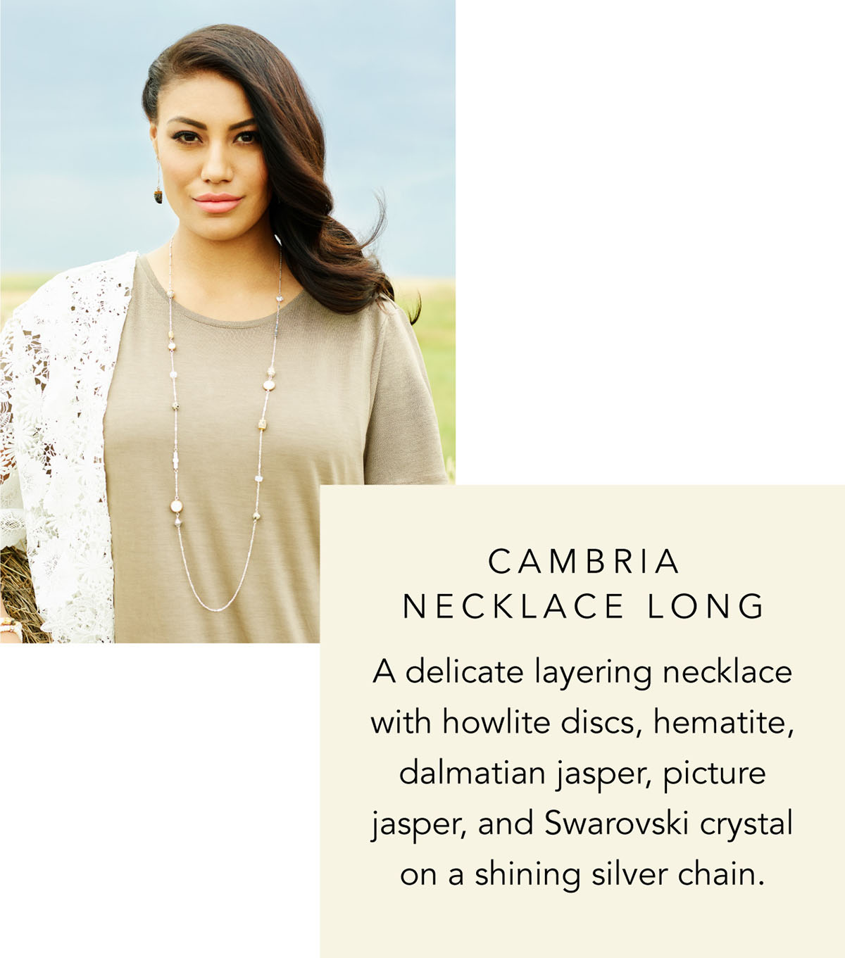 Cambria Necklace Long