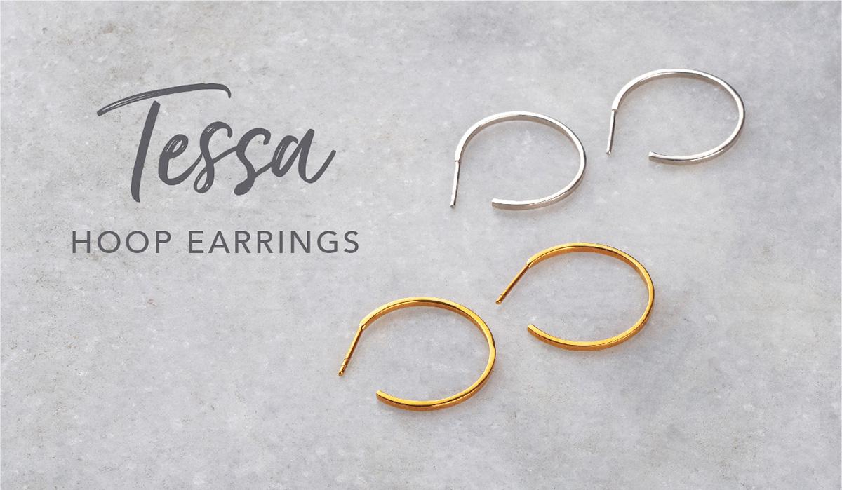 Tessa Hoop Earrings